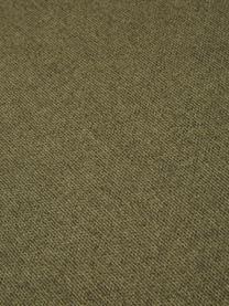 Modulare Ottomane Lennon in Grün, Bezug: Polyester Der hochwertige, Gestell: Massives Kiefernholz, Spe, Füße: Kunststoff Die Füße befin, Webstoff Grün, B 269 x T 119 cm
