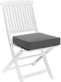 Wysoka poduszka na krzesło Zoey, Szary, S 40 x D 40 cm