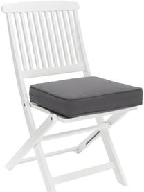 Cuscino sedia alto grigio scuro Zoey, Rivestimento: 100% cotone, Grigio, Larg. 40 x Lung. 40 cm