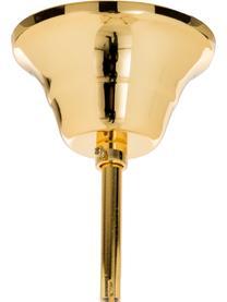 Kronleuchter Marie Therese, Goldfarben, Transparent, Ø 48 x H 42 cm