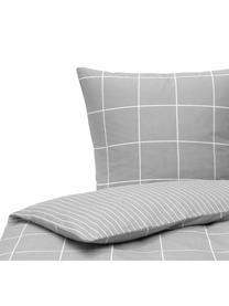 Flanell-Wendebettwäsche Noelle in Grau, Webart: Flanell Flanell ist ein k, Grau, 135 x 200 cm + 1 Kissen 80 x 80 cm