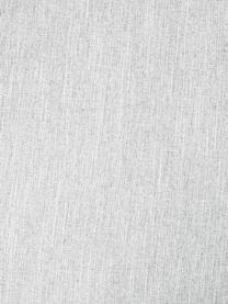 Ecksofa Melva (4-Sitzer) in Hellgrau, Bezug: Polyester Der hochwertige, Gestell: Massives Kiefernholz, Spa, Füße: Kiefernholz, Webstoff Hellgrau, B 319 x T 144 cm
