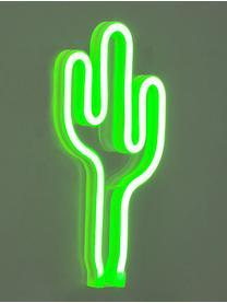 LED-Wandleuchte Cactus, Leuchte: Kunststoff, Grün, 14 x 27 cm