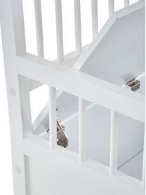 Bank Emma, Bekleding: polyester, Frame: gelakt MDF, Wit, 90 x 85 cm