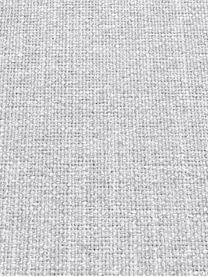 Divano angolare in tessuto grigio chiaro Moby, Rivestimento: poliestere 60.000 cicli d, Struttura: legno di pino massiccio, Piedini: metallo verniciato, Tessuto grigio chiaro, Larg. 280 x Prof. 160 cm