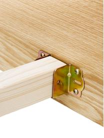 Struttura letto in legno Tammy, Struttura: compensato con finitura i, Piedini: legno di quercia massicci, Legno di quercia, 160 x 200 cm