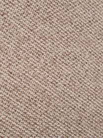 Divano angolare a 3 posti in tessuto taupe Melva, Rivestimento: 100% poliestre Con 55.000, Struttura: pino massiccio, certifica, Tessuto taupe, Larg. 238 x Alt. 101 cm