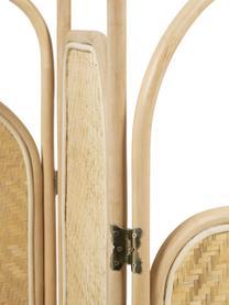 Parawan z rattanu Krysia, Rattan, Jasny brązowy, S 180 x W 180 cm