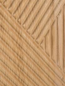 Dressoir Louis met deuren van massief essenhout, Essenhoutkleurig, 177 x 75 cm