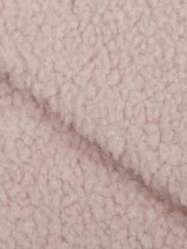 Teddy-Plaid Mille in Rosa, Vorderseite: 100% Polyester (Teddyfell, Rückseite: 100% Polyester, Rosa, 150 x 200 cm