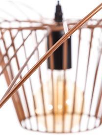 Große Pendelleuchte Stingray, Metall, beschichtet, Kupfer, Ø 72 x T 72 cm