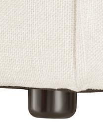 Modulaire XL chaise longue Lennon in beige, Bekleding: polyester De hoogwaardige, Frame: massief grenenhout, multi, Poten: kunststof De poten bevind, Geweven stof beige, B 357 x D 119 cm