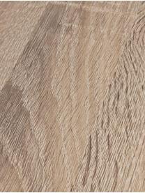 Okrągły stół do jadalni z blatem z imitacji drewna dębowego Henry, Blat: płyta pilśniowa średniej , Nogi: metal malowany proszkowo, Drewno dębowe, Ø 134 x W 76 cm