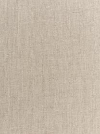 Obrus z lnu Heddie, 100% len, Beżowy, Dla 4-6 osób (S 145 x D 200 cm)