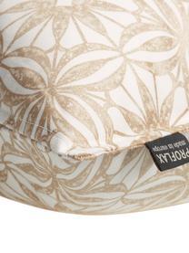 Federa arredo in cotone Alexis, Cotone, Bianco, beige, dorato, Larg. 30 x Lung. 50 cm