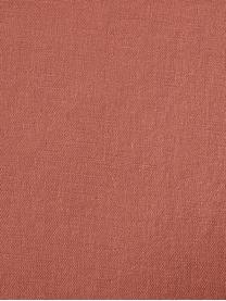 Housse de couette lin lavé Nature, Terracotta