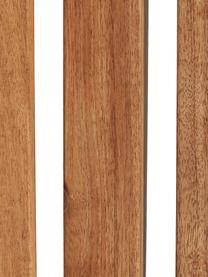Balkon-Set Parklife, 3-tlg., klappbar, Gestell: Metall, verzinkt und pulv, Weiß, Akazienholz, Set mit verschiedenen Größen