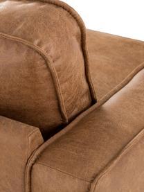 Canapé 3places cuir Hunter, Cuir brun