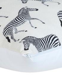 Set de fundas de cojines Marty, 2uds., 100%algodón, Beige, An 40 x L 40 cm