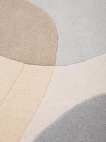 Tappeto in lana taftato a mano Luke, Retro: 100% cotone Nel caso dei , Beige, grigio, albicocca, Larg. 200 x Lung. 300 cm  (taglia L)