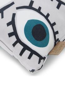 Kissenhülle Dream Big, 100% Polyester, Rosa, Blau, Grün, Weiß, Schwarz, 40 x 40 cm