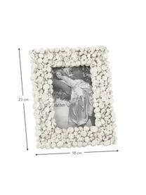 Bilderrahmen Irregular, Rahmen: Kunststoff, Front: Glas, Weiß, 10 x 15 cm