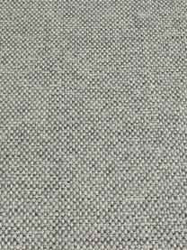 Hoekbank Cucita (4-zits) in lichtgrijs met metalen poten, Bekleding: geweven stof (polyester), Frame: massief grenenhout, Poten: gelakt metaal, Geweven stof grijs, B 302 x D 163 cm