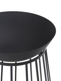 Ciotola Efesto, Acciaio, verniciato a polvere, resistente alle alte temperature, Nero, Ø 50 x Alt. 63 cm