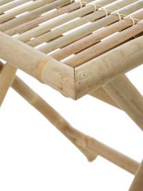 Table de jardin en bambou, plainte Tropical, Brun
