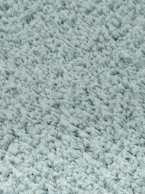 Tappeto peloso morbido verde menta Leighton, Retro: 70% poliestere, 30% coton, Verde menta, Larg.160 x Lung. 230 cm  (taglia M)
