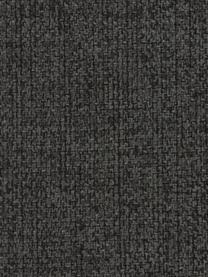 Divano 2 posti in tessuto color antracite Cucita, Rivestimento: tessuto (poliestere) 45.0, Struttura: legno di pino massiccio, Piedini: metallo verniciato, Tessuto antracite, Larg. 187 x Prof. 94 cm