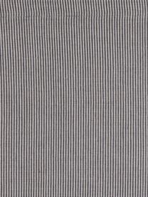 Baumwoll-Tischsets Bombay, 2 Stück, Baumwolle, Grau, 35 x 50 cm