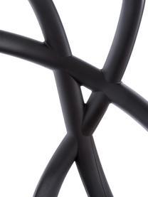 Design Barstuhl Masters, Polypropylen, Schwarz, 49 x 109 cm
