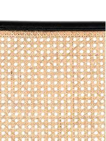 Loungefauteuil Spike met Weens vlechtwerk, Bekleding: polyester 100.000 cyclito, Poten: gepoedercoat metaal, Beige, roze, B 79 x D 70 cm