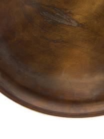 Okrągły stolik pomocniczy z metalu Frost, Odcienie złotego, miedź, antyczne wykończenie, Ø 39 x W 45 cm