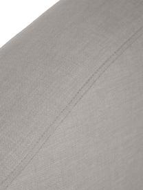 Letto boxspring premium in tessuto grigio chiaro Dahlia, Materasso: nucleo a 5 zone di molle , Piedini: legno massiccio di betull, Grigio chiaro, 140 x 200 cm