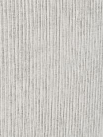 Łóżko kontynentalne premium ze sztruksu Eliza, Nogi: lite drewno brzozowe, lak, Jasny szary, S 200 x D 200 cm