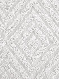 Handtuch-Set Jacqui mit Hoch-Tief-Muster, 3-tlg., Hellgrau, Sondergrößen