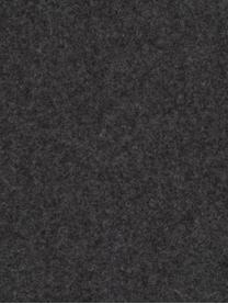 Kulaté plstěné prostírání Leandra, 4 ks, Bílá, béžová