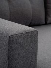 Sofa narożna z funkcją spania i schowkiem Neo (4-osobowa), Tapicerka: 100% poliester, Szary, S 230 x G 140 cm