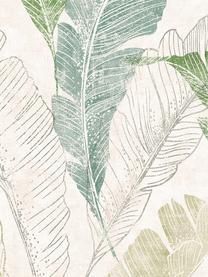 Tapete Capri Tropical Leaf, Beschichtung: Vinyl, Beige, Grüntöne, 53 x 1005 cm
