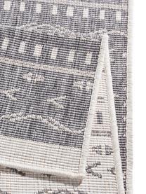 In- und Outdoor-Wendeläufer Kuba in Grau/Creme, Grau, Creme, 80 x 250 cm