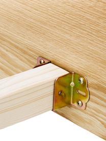 Holzbett Tammy mit Kopfteil, Gestell: Mitteldichte Holzfaserpla, Füße: Massives Eichenholz, Eichenholz, 180 x 200 cm