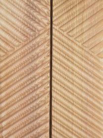 Tv-meubel Louis van massief hout, Gelakt massief essenhout, Essenhout, 180 x 55 cm