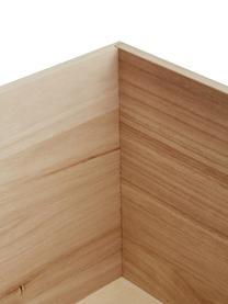 Caja Rabby, Madera de Paulownia, tablero de fibras de densidad media (MDF), Gris, bayo, An 40 x Al 36 cm