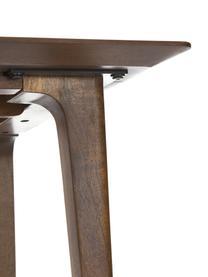 Mesa de comedor de madera maciza Archie, Madera de mango maciza pintada, Madera de mango, An 160 x Al 90 cm