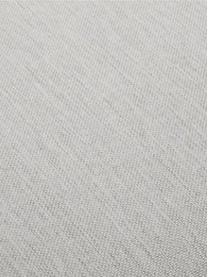 Bank Zach (3-zits) in taupe, Bekleding: polypropyleen, Poten: kunststof, Geweven stof taupe, B 231 x D 90 cm