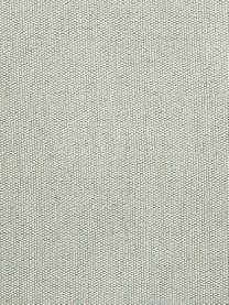 Copertura poltrona Levante, 65% cotone, 35% poliestere, Verde grigio, Larg. 110 x Alt. 110 cm