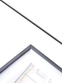 Ramka na zdjęcia Exhibit, Metal powlekany, Czarny, Komplet z różnymi rozmiarami