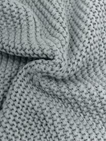 Strick-Kissenhülle Adalyn in Salbeigrün, 100% Baumwolle, Salbeigrün, 30 x 50 cm